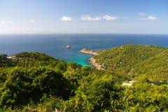 Bucht Aow Leuk und Haifisch-Insel Lizenzfreie Stockfotografie