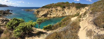 Bucht auf Korsika Lizenzfreie Stockfotos