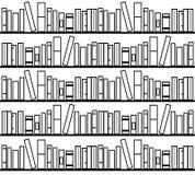 Bucht Bibliothek lizenzfreie abbildung