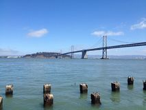 Bucht-Brücke Stockfoto