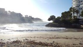 Bucht cala d' eller Arkivbild