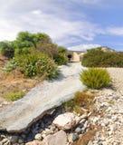 Bucht der Aphrodite zypern lizenzfreie stockfotografie