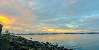 Bucht der Nordsee Lizenzfreies Stockfoto
