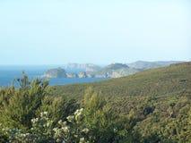 Bucht des Inselbestimmungsortes lizenzfreie stockfotos