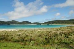 Bucht des Pazifischen Ozeans Stockbild