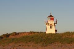 Bucht-Hauptleuchtturm Stockfotografie