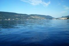 Bucht in Herceg Novi Lizenzfreie Stockbilder