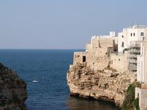 Bucht in Italien Stockfotos