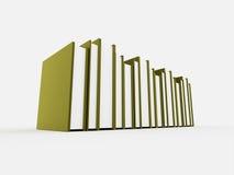 Bucht Konzept auf Gelb Lizenzfreies Stockbild