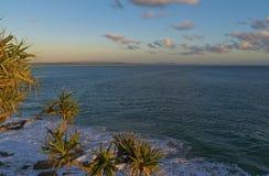 Bucht-Morgen-Ansicht Noosa Laguna Stockfotografie