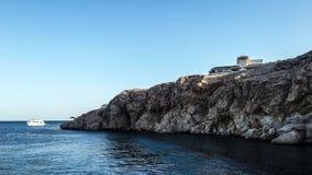 Bucht Nes 'ema im Sharm el-Sheikh in Ägypten lizenzfreies stockbild