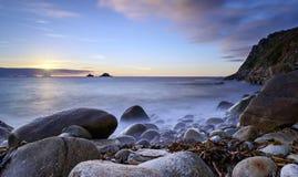 Bucht Porth Nanven Lizenzfreie Stockbilder