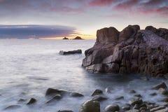 Bucht Porth Nanven Stockfotografie