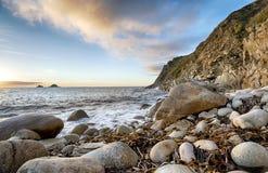 Bucht Porth Nanven Stockfoto