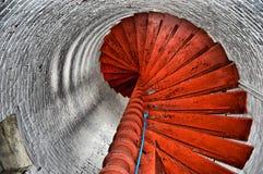 Bucht-Punkt-Leuchtturm Stockfotografie
