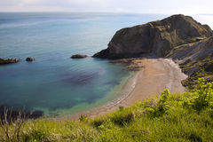 Bucht St. Oswalds nahe Durdle-Tür, Dorset Lizenzfreies Stockbild
