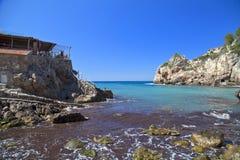 Bucht von Deia Stockbilder