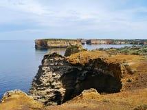 Bucht von den Inseln Küsten in Victoria Stockbilder