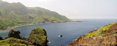 Bucht von Fajan D'Agua Lizenzfreie Stockfotografie