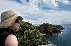 Bucht von Insel Neuseeland - Roberton-Insel lizenzfreie stockfotografie