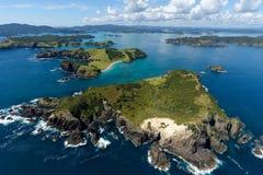 Bucht von Inseln Lizenzfreies Stockbild