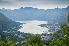 Bucht von Kotor in Montenegro Stockfoto