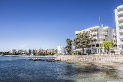 Bucht von Sta Eularia Lizenzfreie Stockbilder