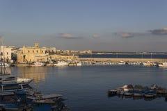 Bucht zwischen Rivelino und Canneto in Gallipoli (Le) Lizenzfreies Stockfoto