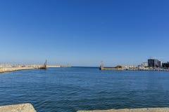 Buchtansicht der Hafenstadt von Tomis, Constanta Lizenzfreie Stockfotografie