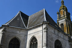 Buchy, Γαλλία - 23 Ιουνίου 2016: Εκκλησία της Notre Dame Στοκ Εικόνες
