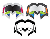 Buchzeichen oder -ikone Lizenzfreie Stockfotos