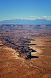 Buck Canyon Overlook. In Canyonlands National Park Royalty Free Stock Image