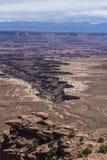 Buck Canyon overlook Royalty Free Stock Photography