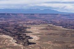 Buck Canyon overlook Stock Image