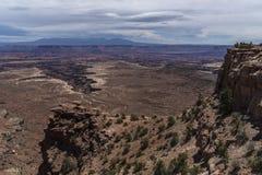 Buck Canyon overlook Stock Images
