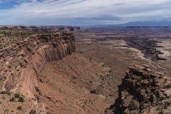 Buck Canyon overlook Royalty Free Stock Photo