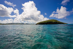Buck Island. National Park of Buck Island from St. Croix Stock Photos