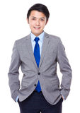 buck model biznesu garnitur Zdjęcie Royalty Free