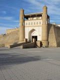 Buckara gate. Main gate along bukhara walls royalty free stock images