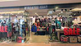 Buckaroo Jeans shop in Hong Kong Royalty Free Stock Photo