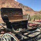 Buckboard furgon zdjęcia royalty free