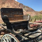 Buckboard Wagon royalty free stock photos