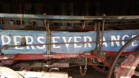 Buckboard ` wytrwałości ` zdjęcia royalty free