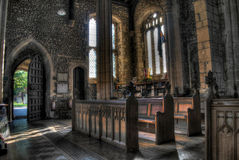 Buckden Village Church in England Royalty Free Stock Image