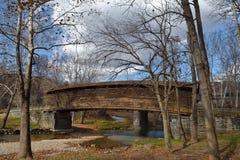 Buckel-Brücke Lizenzfreies Stockbild