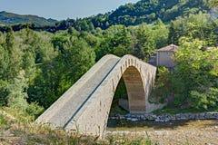 Buckelbrücke Lizenzfreies Stockbild
