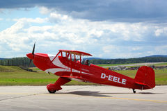Bucker 131 Jungmann airplane Royalty Free Stock Images