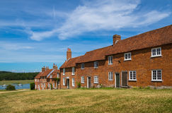 Bucklers Hard Cottages Royalty Free Stock Photography