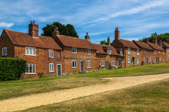 Buckers Hard Cottages Stock Photo
