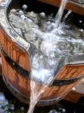 bucket вода Стоковое фото RF